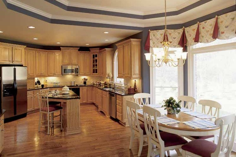 Colonial Interior - Kitchen Plan #927-174 - Houseplans.com