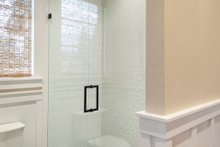 House Plan Design - Upstairs Bathroom - 4900 square foot Colonial home