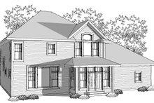 Dream House Plan - Traditional Photo Plan #70-1038