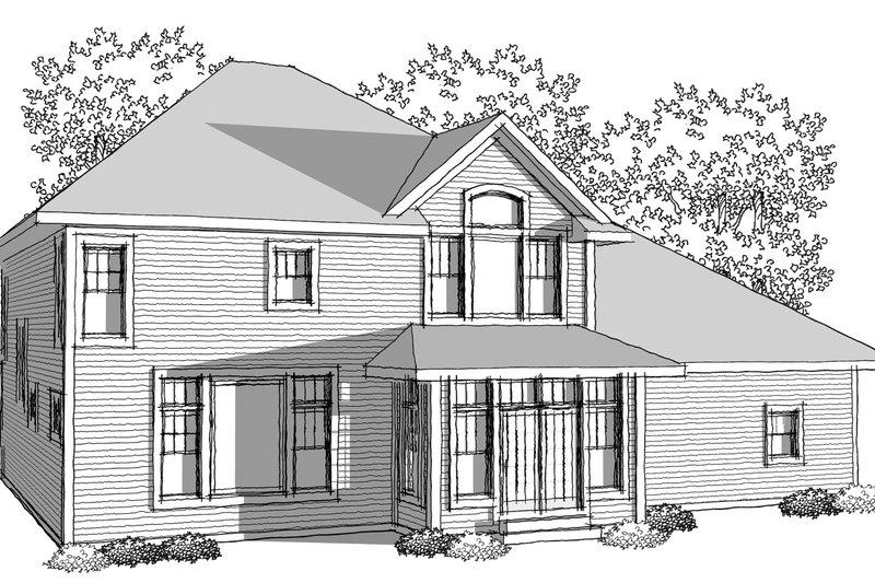 Traditional Photo Plan #70-1038 - Houseplans.com