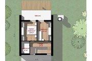 Modern Style House Plan - 2 Beds 1 Baths 709 Sq/Ft Plan #473-3 Floor Plan - Upper Floor