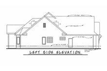 Home Plan - Left Side Elevation