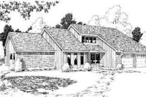 Contemporary Exterior - Front Elevation Plan #312-126