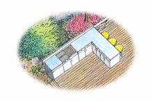 Traditional Exterior - Rear Elevation Plan #1040-63