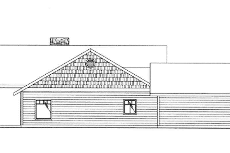 Contemporary Exterior - Other Elevation Plan #117-849 - Houseplans.com
