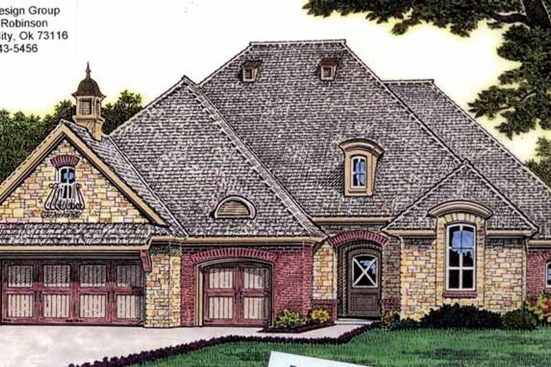 Dream House Plan - Traditional Exterior - Front Elevation Plan #310-1232