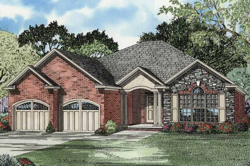 Country Exterior - Front Elevation Plan #17-2944 - Houseplans.com