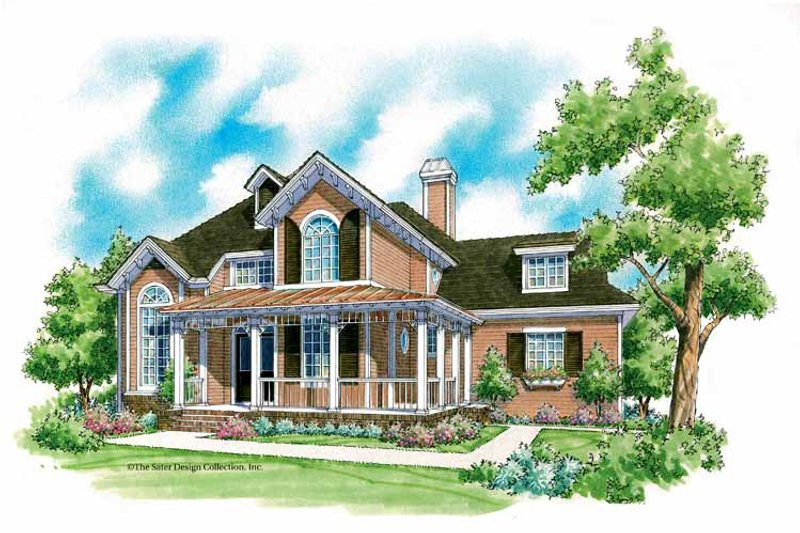 Victorian Style House Plan - 3 Beds 2.5 Baths 3127 Sq/Ft ...