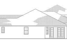 House Plan Design - Mediterranean Exterior - Other Elevation Plan #1058-81