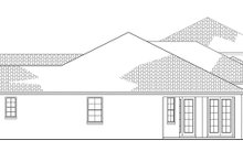 Dream House Plan - Mediterranean Exterior - Other Elevation Plan #1058-81