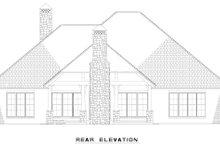 Dream House Plan - Craftsman Exterior - Other Elevation Plan #17-2487