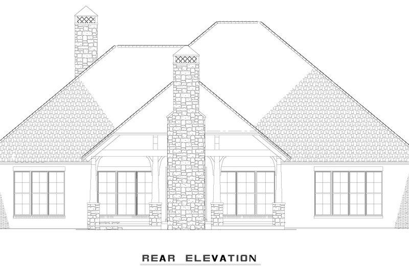 Craftsman Exterior - Other Elevation Plan #17-2487 - Houseplans.com