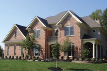 Dream House Plan - Colonial Exterior - Front Elevation Plan #927-191