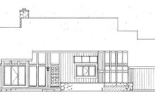 House Plan Design - Contemporary Exterior - Front Elevation Plan #72-763