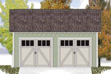 Craftsman Exterior - Front Elevation Plan #306-128