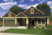 Home Plan - Ranch Exterior - Front Elevation Plan #943-32