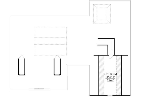House Plan Design - Optional Bonus Level