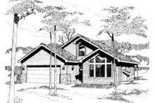 Traditional Exterior - Front Elevation Plan #117-190