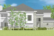 Classical Exterior - Other Elevation Plan #72-1089