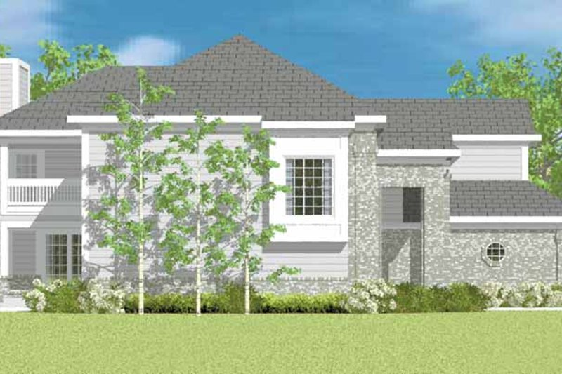 Classical Exterior - Other Elevation Plan #72-1089 - Houseplans.com