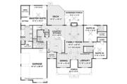 Ranch Style House Plan - 3 Beds 3.5 Baths 2294 Sq/Ft Plan #56-696 Floor Plan - Main Floor Plan