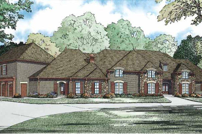 House Design - European Exterior - Front Elevation Plan #17-3347