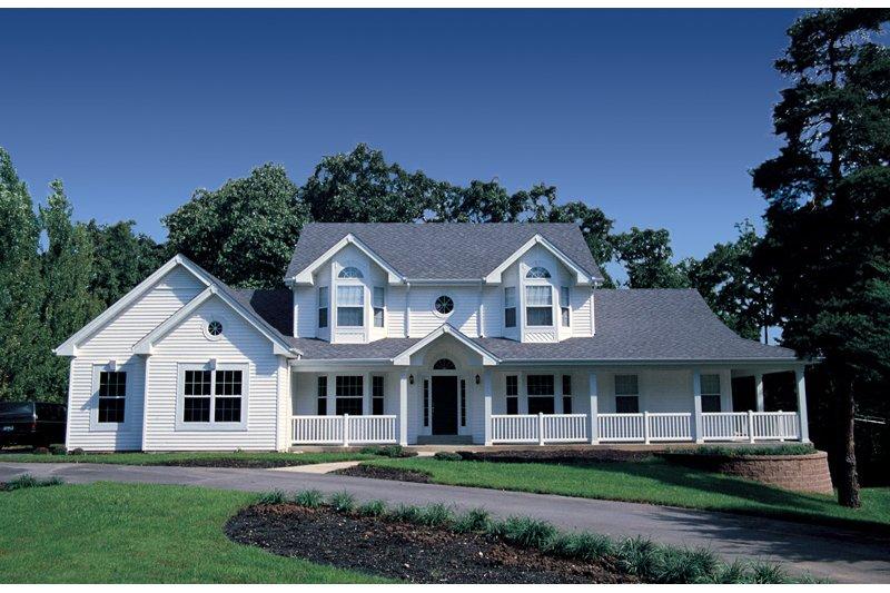 Dream House Plan - Farmhouse Photo Plan #57-135