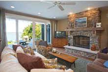 Country Interior - Family Room Plan #928-4