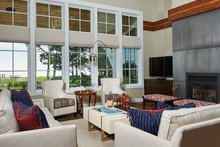 Home Plan - Farmhouse Interior - Family Room Plan #928-14