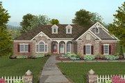 Craftsman Style House Plan - 4 Beds 2.5 Baths 2000 Sq/Ft Plan #56-576