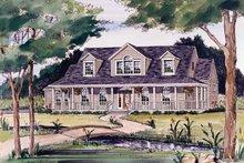 Victorian Exterior - Front Elevation Plan #314-187