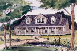 Home Plan - Victorian Exterior - Front Elevation Plan #314-187