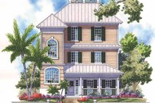 Architectural House Design - Country Exterior - Front Elevation Plan #930-168