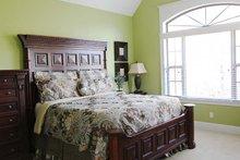 House Plan Design - Ranch Interior - Master Bedroom Plan #929-745