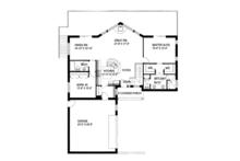 Ranch Floor Plan - Main Floor Plan Plan #117-833