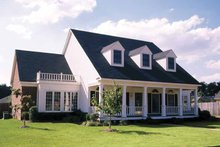 Dream House Plan - Colonial Exterior - Front Elevation Plan #320-898