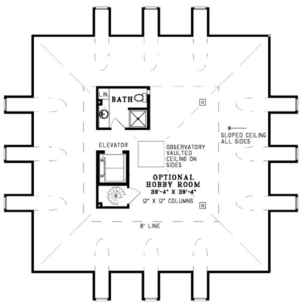 Southern Floor Plan - Other Floor Plan Plan #17-3233