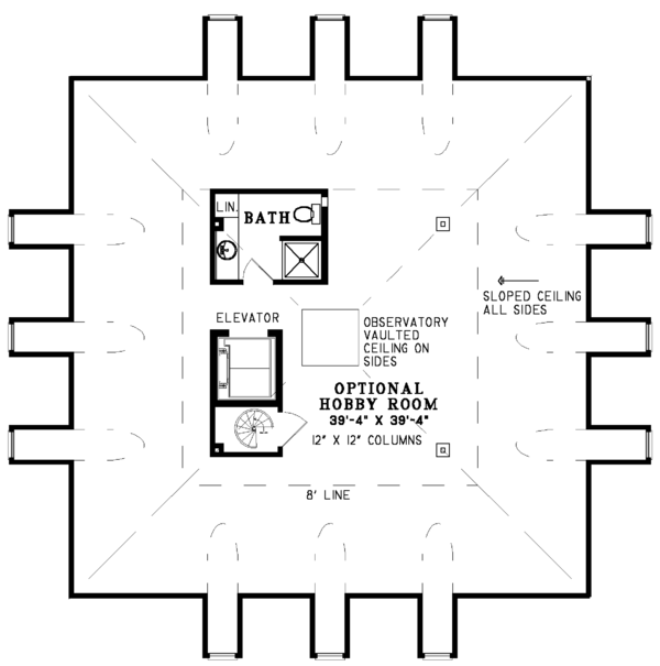Architectural House Design - Southern Floor Plan - Other Floor Plan #17-3233