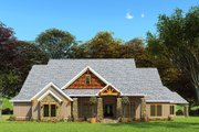 Craftsman Style House Plan - 3 Beds 2 Baths 3698 Sq/Ft Plan #923-162 Exterior - Front Elevation