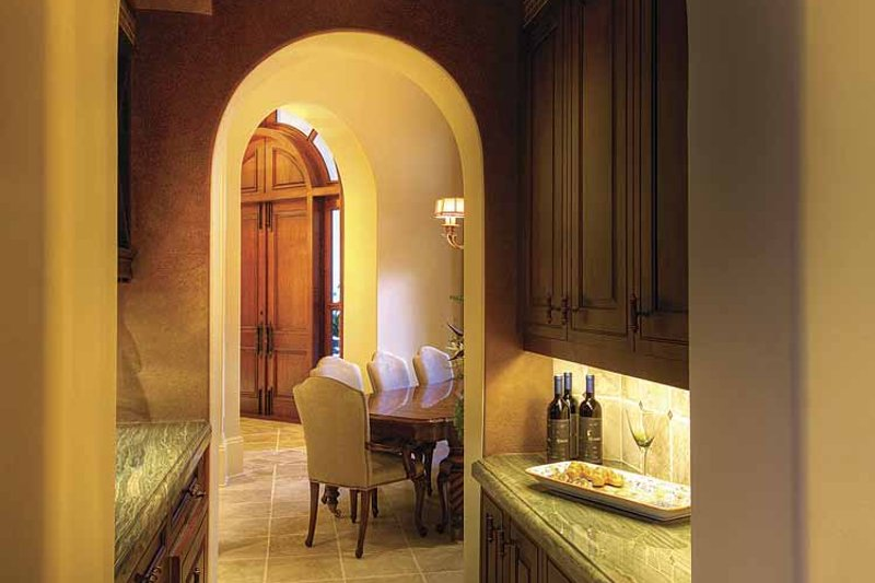 Mediterranean Interior - Dining Room Plan #930-418 - Houseplans.com