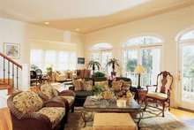 Country Interior - Family Room Plan #37-249