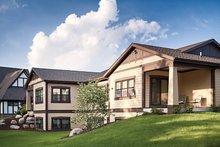Craftsman Exterior - Rear Elevation Plan #928-266