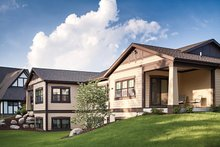 Home Plan - Craftsman Exterior - Rear Elevation Plan #928-266