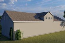 House Plan Design - Farmhouse Exterior - Rear Elevation Plan #1060-83