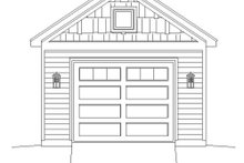 Country Exterior - Front Elevation Plan #932-190
