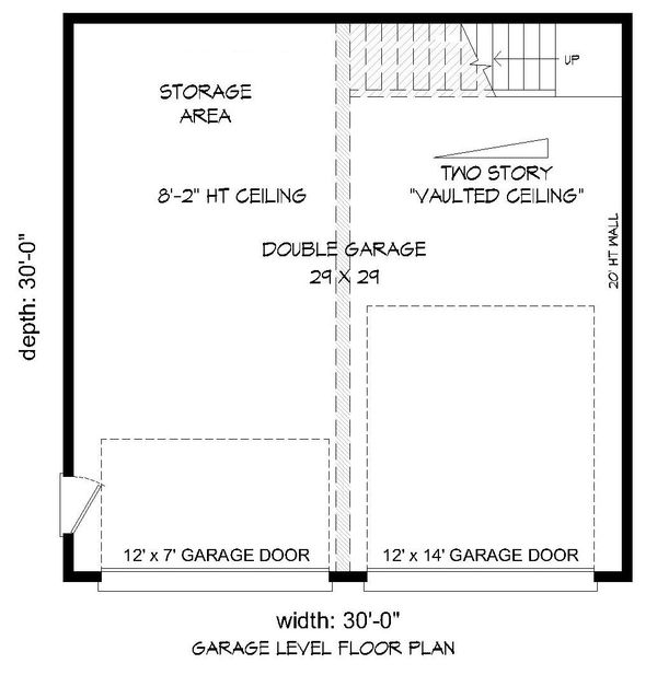 Contemporary Floor Plan - Main Floor Plan #932-32