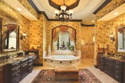 Mediterranean Style House Plan - 6 Beds 5 Baths 6568 Sq/Ft Plan #135-202 Photo
