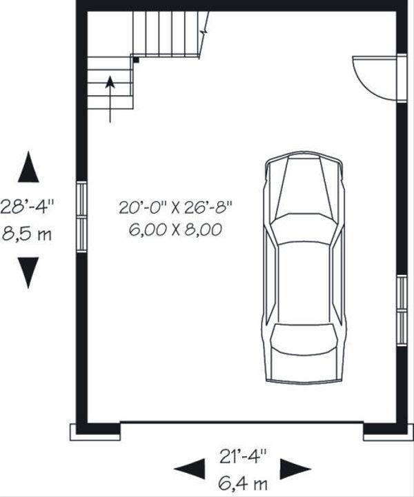 Traditional Floor Plan - Main Floor Plan #23-766