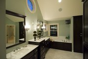 Traditional Style House Plan - 5 Beds 4.5 Baths 4873 Sq/Ft Plan #56-599 Interior - Master Bathroom