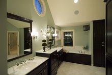 Architectural House Design - Traditional Interior - Master Bathroom Plan #56-599